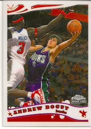 Andrew Bogut 2005-06 Topps Chrome Rookie Card