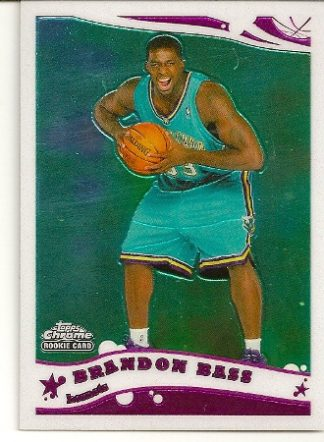 Brandon Bass 2005-06 Topps Chrome Rookie Card