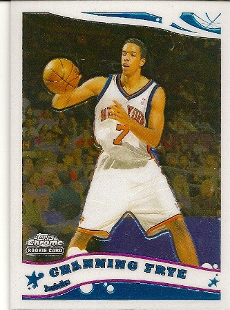 Channing Frye 2005-06 Topps Chrome Rookie Card