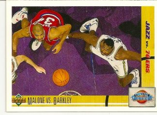 Charles Barkley Vs. Karl Malone1991-92 Upper Deck Classic Confrontation Card