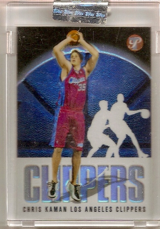Chris Kaman 2003-04 Topps Pristine Refractor Rookie Card /499