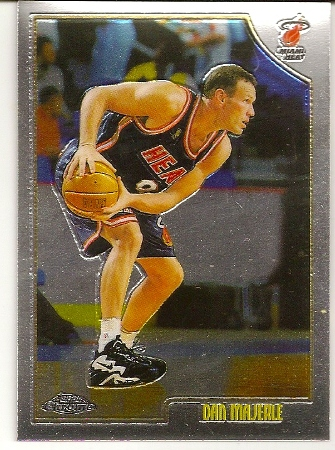 Dan Majerle 1998-99 Topps Chrome Basketball Card