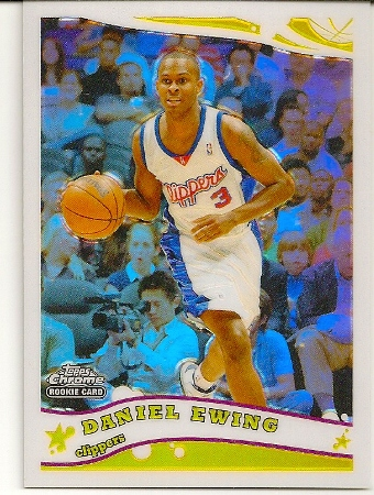 Daniel Ewing 2005-06 Topps Chrome Refractor Rookie Card