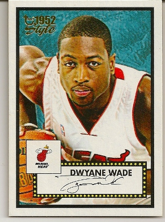 Dwyane Wade 2005-06 Topps 52 Style Basketball Card