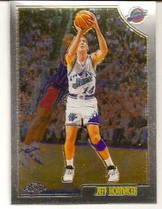 Jeff Hornacek 1998-99 Topps Chrome Basketball Card