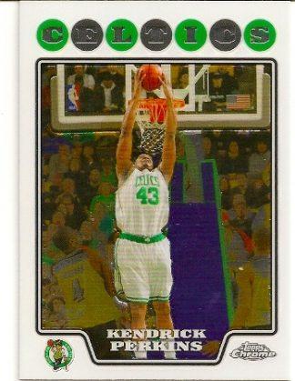 Kendrick Perkins 2008-09 Topps Chrome Basketball Card