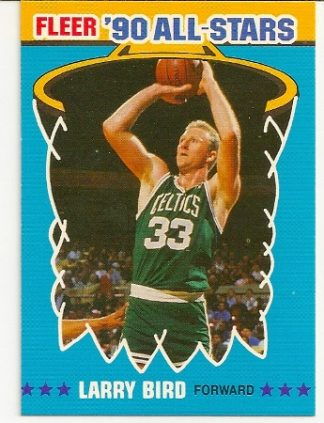 Larry Bird 1990-91 Fleer All-Star Basketball Card