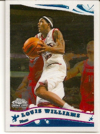 Louis Williams 2005-06 Topps Chrome Rookie Card