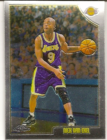 Nick Van Exel 1998-99 Topps Chrome Basketball Card