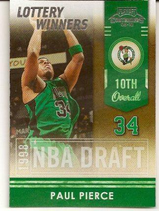 Paul Pierce 2009-10 Playoff Contenders Lottery Winners Basketball Card