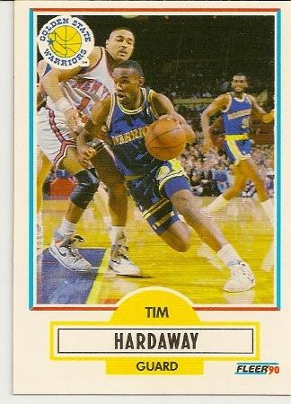 Tim Hardaway 1990-91 Fleer Rookie Card
