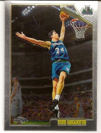 Tom Gugliotta 1998-99 Topps Chrome Basketball Card
