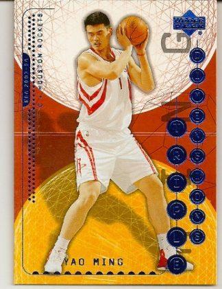 Yao Ming 2003-04 Triple Dimensions Basketball Card