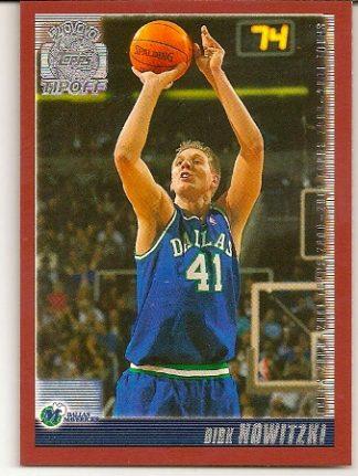 Dirk Nowitzki 2000-01 Topps Tip-Off Card
