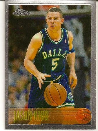 Jason Kidd 1996-97 Topps Chrome Basketball Card