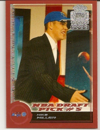 Mike Miller 2000-01 Topps Tip-Off Rookie Card