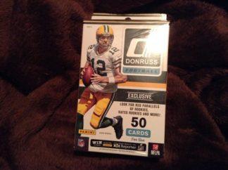 2016 Donruss NFL Football Retail Hanger Pack Box