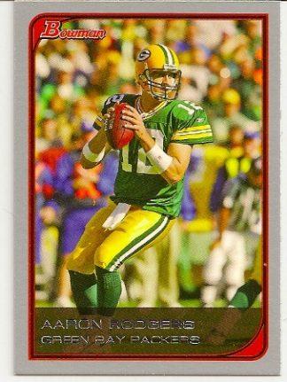 Aaron Rodgers 2006 Bowman Base Football Card