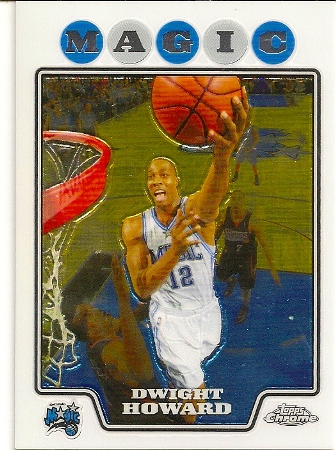 Dwight Howard 2008-09 Topps Chrome Basketball Card