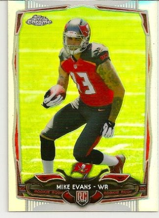 Mike Evans 2014 Topps Chrome Refractor Rookie Card