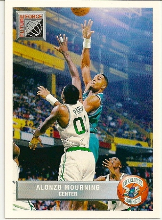 Alonzo Mourning 1992-93 Upper Deck McDonald's Basketball Card