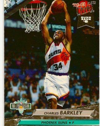 Charles Barkley 1992-93 Fleer Ultra NBA Jam Session Card