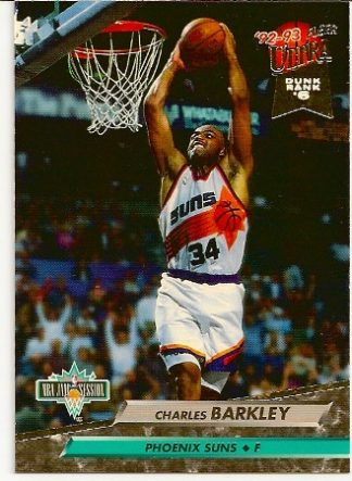 Charles Barkley 1992-93 Fleer Ultra NBA Jam Session Card