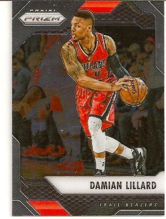 Damian Lillard 2016-17 Panini Prizm Basketball Card
