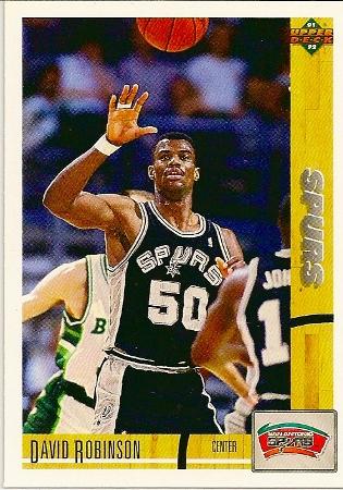 David Robinson 1991-92 Upper Deck Basketball Card