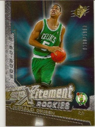 Gerald Green 2005-06 SPXcitement Rookies Basketball Card d0d112347