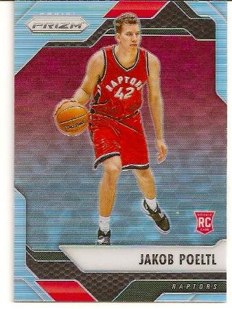 Jakob Poeltl 2016-17 Panini Prizm Refractor Rookie Card
