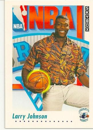 Larry Johnson 1991-92 Skybox Rookie Card