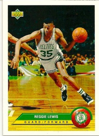 Reggie Lewis 1992-93 Upper Deck McDonald's Basketball Card