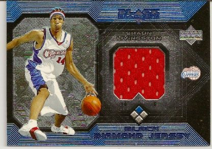 Shaun Livingston 2004-05 Upper Deck Black Diamond Jersey Rookie Card