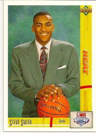 Steve Smith 1991-92 Upper Deck Rookie Card