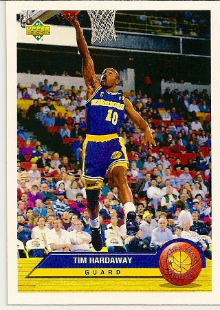 Tim Hardaway 1992-93 Upper Deck McDonald's Basketball Card