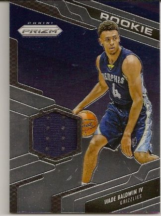 Wade Baldwin 2016-17 Prizm Rookie Jersey Patch Card a4e3c1b1b
