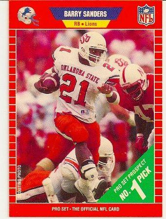 barry-sanders-1989-pro-set-rookie-card