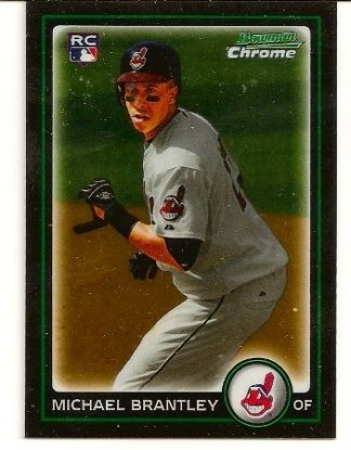 michael-brantley-2010-bowman-chrome-rookie-card