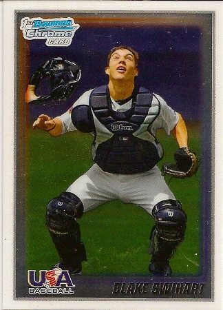 Blake Swihart 2010 Bowman Chrome Rookie Card