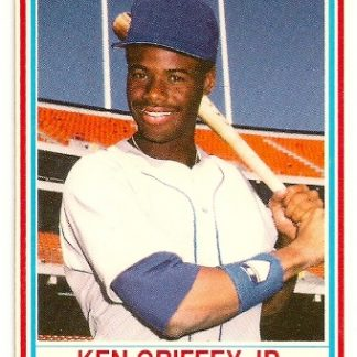 Ken Griffey, Jr 1990 Post Cereal Baseball Card