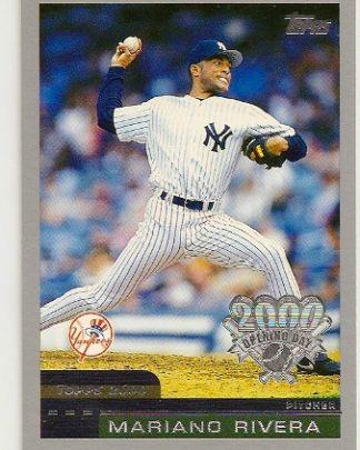 Mariano Rivera 2000 Topps Opening Day Baseball Card