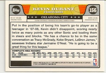 2008-09-topps-chrome-kevin-durant-basketball-card-back