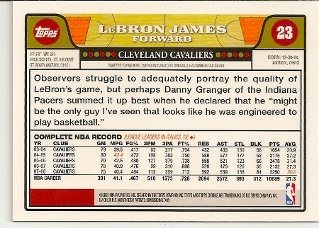 2008-09-topps-chrome-lebron-james-basketball-card-back