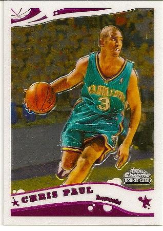 2005-06 Topps Chrome Chris Paul Rookie Card