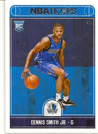 Dennis Smith, Jr 2017-18 NBA Hoops Rookie Card