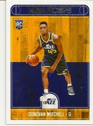 Donovan Mitchell 2017-18 NBA Hoops Rookie Card