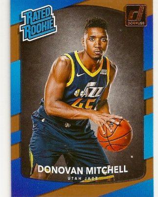 donovan-mitchell-2017-18-panini-donruss-rookie-card