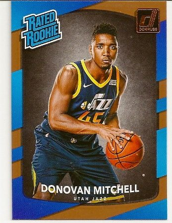 donovan-mitchell-2017-18-panini-donruss-rookie-card