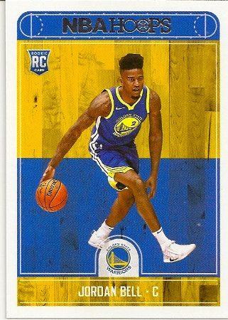 Jordan Bell 2017-18 NBA Hoops Rookie Card